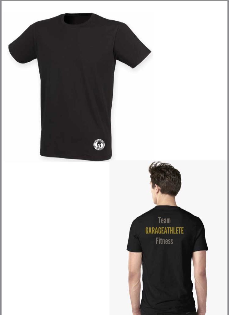 Team garageathlete fitness t shirt adam wakefield